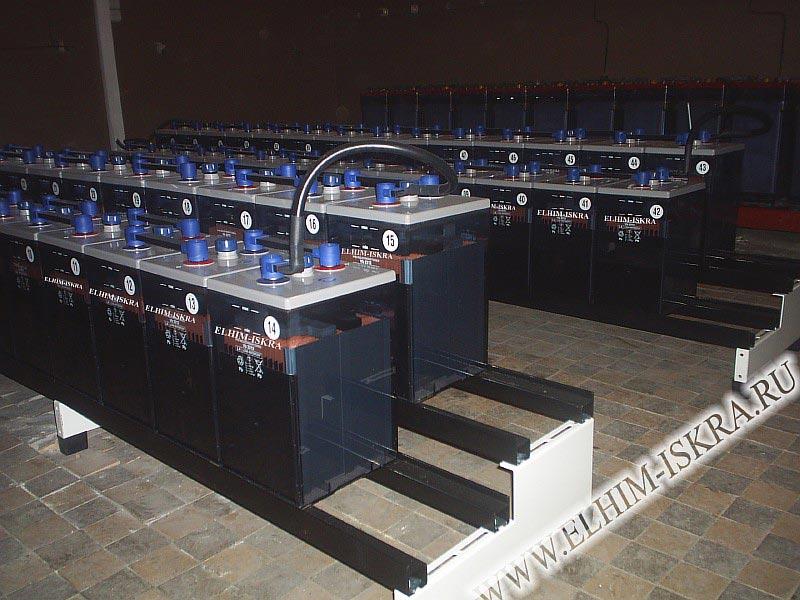 Аккумуляторные батареи от компании элхим-искра