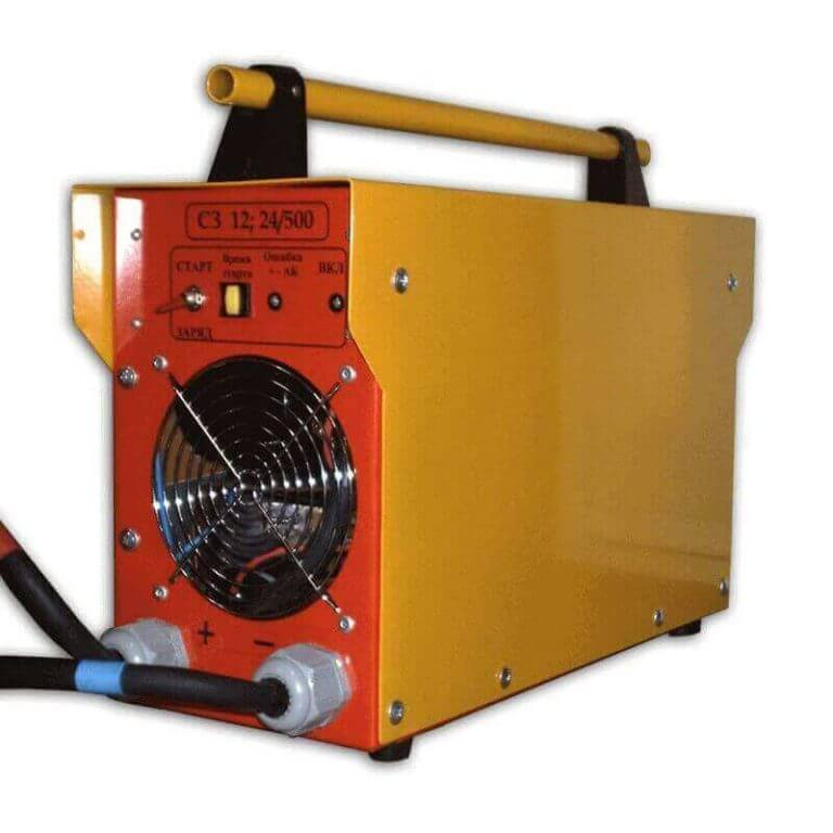 Пуско-зарядные устройства для стартерных аккумуляторов - картинка №1