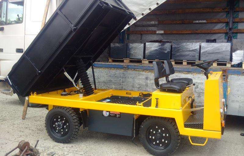 Платформенный тягач,Самосвал ЕС 301.2 от компании элхим-искра