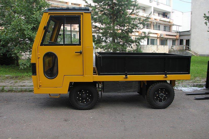 Платформенные тележки и тягачи  ЕП 011.4 от компании Элхим-искра