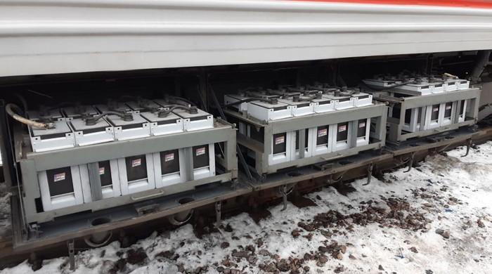 Гелевые аккумуляторы для пассажирских вагонов - картинка №1