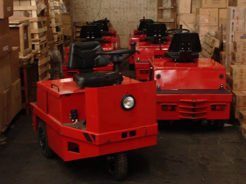 Платформенные тележки и тягачи ЕТ 508 от компании Элхим-искра