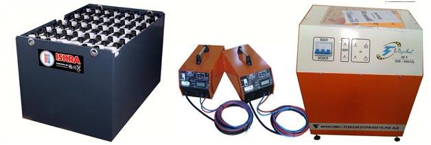 10 важных фактов про аккумуляторы для вилочных погрузчиков - картинка iskra-akb-1